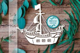 100 Pirate Ship Design SVG DXF PNG PDF JPG By Tommy And Tilly