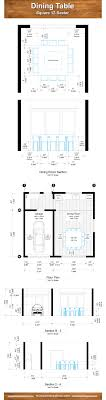 Square Dining Table Dimensions For 12 People