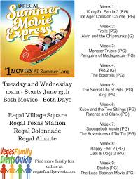 Pumpkin Patch Near Las Vegas Nv by Dollar Movies This Summer With Regal And Cinemark