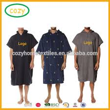 2017 Lightweight Microfiber Changing Robe Or Poncho Towel Ideal For Surfing Swimming Triathlon And