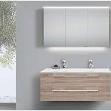 doppelwaschtisch 120 cm badmöbel glasbecken mit unterschrank und spiegelschrank carini nussbaum