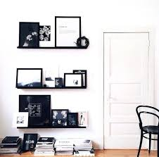 Salon Decorating Ideas Budget by Black Wall Shelves Pictures U2013 Musingsofamodernhippie
