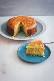 semolina joghurt kuchen mit zitronensirup
