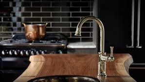 Articulating Arm Kitchen Faucet by Artesso Kitchen Brizo