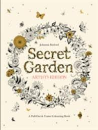 Books Kinokuniya Secret Garden Artists Edition A Pull Out And
