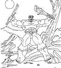 Incredible Hulk Coloring Pages