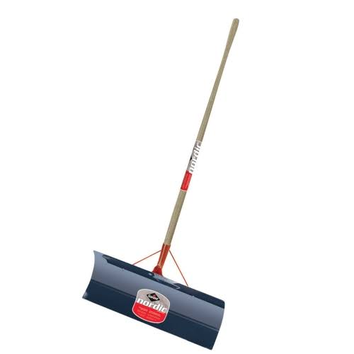 Garant Nordic NSP24L Steel Snow Shovel Pusher - 24""