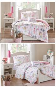 Pink Bonjour Paris Girls Bedding Twin Full forter or Queen