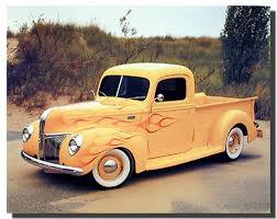 100 Antique Truck Amazoncom Vintage Wall Decor 1940 Ford Pickup Art Print