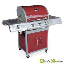 cuisine barbecue gaz barbecue au gaz richelieu 4 brûleurs 1 feu latéral