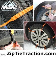 Zip Grip Go | Zip Tie Tire Chains