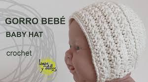 Tutorial Gorro Vintage Bebé Crochet o Ganchillo