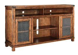 Rustic TV Stand Ashley Furniture — Cabinets Beds Sofas and