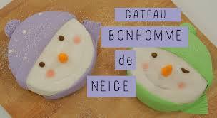 fashion cooking le gâteau bonhomme de neige