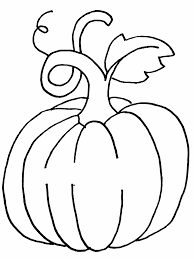 The Great Pumpkin Vegetable Coloring Page For Kids