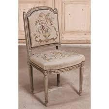 louis xvi chair antique antique louis xvi painted tapestry chair inessa stewart s