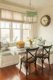 To Fit Seating Into The Tight Space He Added A Breakfast Nook Wraparound Bench Eliminated Need For Chairs And Lots Of Much N