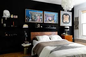The Best Black Room Ideas | Apartment Therapy Sede Black Leather Walnut Ding Chair Chairs Accent For Fascating Bedroom Design Ideas Using White And Chair Remarkable Room 30 Rooms That Work Their Monochrome Magic Grey And Living 42 Best Glass Coffeemagazeliving Bedroom Table In 20 Small For Bedroom 6 Tips Mixing Wood Tones A Singapore Fiber Optics Contemporary With Black Us 19084 26 Off110cm Table Set Tempered Glass With 4pcs Room On Surprising Colour Fniture Sets King Wrought Iron Cast Metal Locker