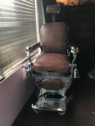 Theo A Kochs Barber Chair Footrest by Custom Barber Chair Restoration Services The New York Shaving