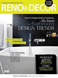 Home Decor Magazine Canada by Reno U0026 Decor Magazine Oct Nov 2016 By Homes Publishing Group Issuu