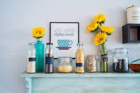 Mamma Chia Bottles As Kitchen Decor By The Resource Girls