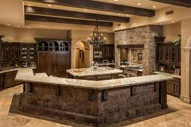 First Class Rustic Kitchen Countertops 35 Beautiful Kitchens Design Ideas Designing Idea