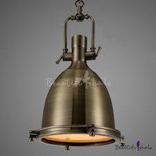 Fashion Style Pendant Lights Bronze Industrial Lighting
