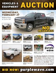 100 Shelby Elliott Trucks SOLD February 27 Vehicles And Equipment Auction PurpleWav