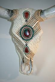 Decorated Cow Skulls Pinterest by 2012 Western Decorating Trends Southwestern Design Stylish