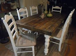 Dining Room Wood Tables Image Photo Album Of Ideas Stylish Kitchen Best Rustic