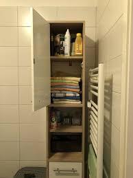 badezimmer kommode badezimmerschrank braun weiß