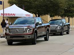 Battle Of The Nissan Titans: Half-Ton Vs. XD Dieseltrucksautos Chicago Tribune Review Nissans Gas V8 Titan Xd Has A Few Advantages Over Tow Shop Manual Service Repair Dodge Ram Truck Chilton Book Pickup Bds Suspension 6 Lift Kit For 32018 Dodge Ram 1500 Gas Vs Diesel Trucks Which Should You Buy Youtube 2017 Gmc Sierra Denali 2500hd 7 Things To Know The Drive Top 5 Pros Cons Of Getting Pickup Truck Ford Super Duty F250 F350 Review With Price Torque Towing Engine Vs
