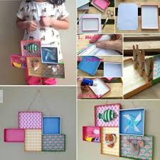 ukras za zid od kutija za cipele DIY Pinterest