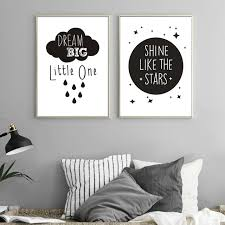 Inspirational Love Quotations Canvas Painting Poster Printable Modern Nursery Wall Art Picture For Kids Room Home