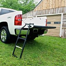 100 Truck Camper Steps Amazoncom Traxion 5100 Tailgate Ladder Automotive