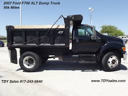 100 Truck For Sale In Texas 2007 D F750 XLT Dump TDY S 8172439840