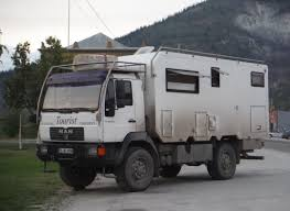 "Interesting German-made RV: The ""Man"" Truck 