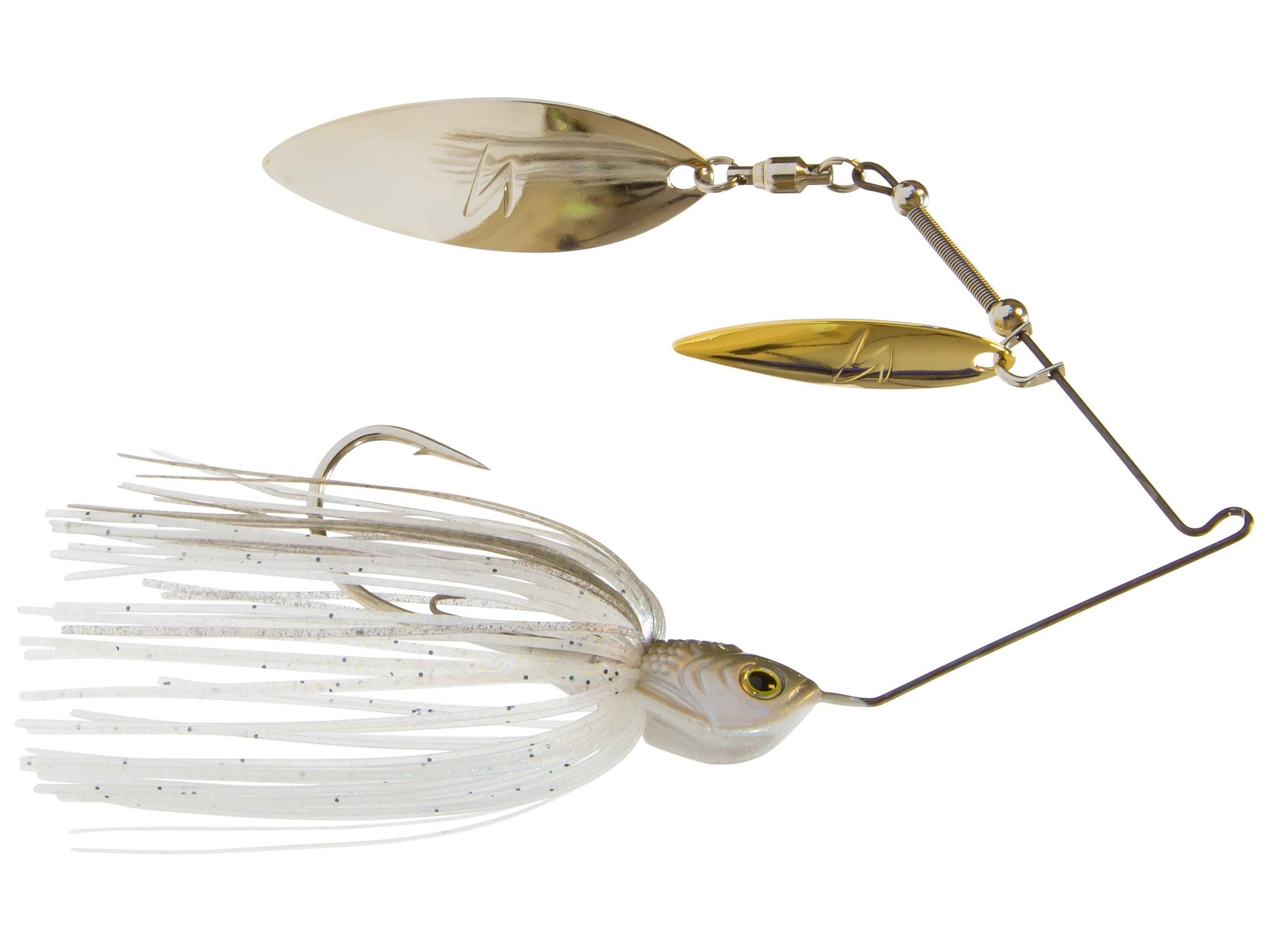 Z-Man SlingbladeZ Double Willow Spinnerbait - Clearwater Shad, 1/2oz