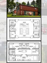 104 Steel Container Home Plans 6 Floorplan Shippingcontainer Floorplan Shipping Design House Shipping Design