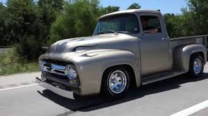 1956 Ford F-100 Classic Hot Rod Pickup Truck - YouTube