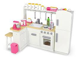 Eimmie 18 Inch Doll Kitchen Set w Refrigerator and Accessories