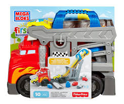 Mega Bloks First Builders Fast Tracks Racing Rig (CND68 ... Mega Bloks Cat 3 In 1 Ride On Dump Truck Man Christmas Caterpillar Large 1807660449 New Original 6 Big Blocks By 182658116808 Megabloks Cat Toy Tool Box And 50 Similar Items Amazoncom Lil Toys Games Vehicle The Top 14 Best For Kids 2017 Dodge Trucks Argos Twin Pack And Wheel Table Amazoncouk