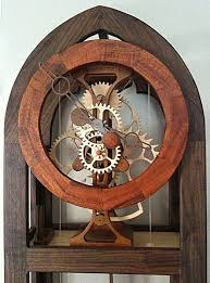 Free Wood Clock Plans by Free Wooden Gear Clock Plans Download Woodworking Projects