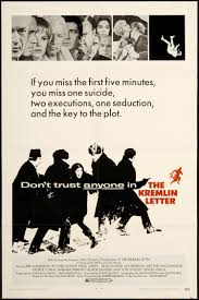 The Kremlin Letter 1970 Drama and Action films
