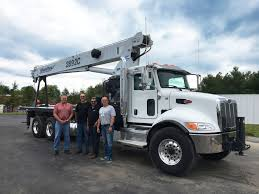 Empire Delivers Boom Truck To Accurate Crane Service