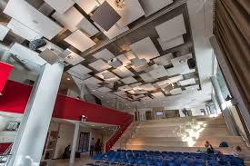 acoustic ceiling rockfon islands uw college maastricht
