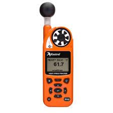 kestrel 5400 pocket heat stress tracker vane mount safety orange