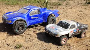 Losi TEN-SCTE 4X4 Ford Raptor & Traxxas Slash Short Course RC Truck ...