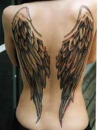 Angel Tattoos Expressing Hope