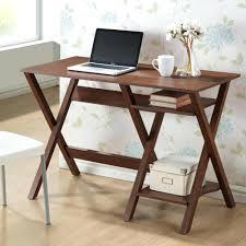desk excellent kenton x base wood accent caign writing desk